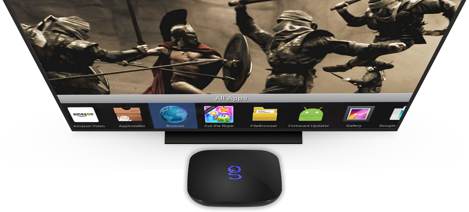 Matricom G-Box (GBox) Q2 built for Kodi Fast responsive remote Is